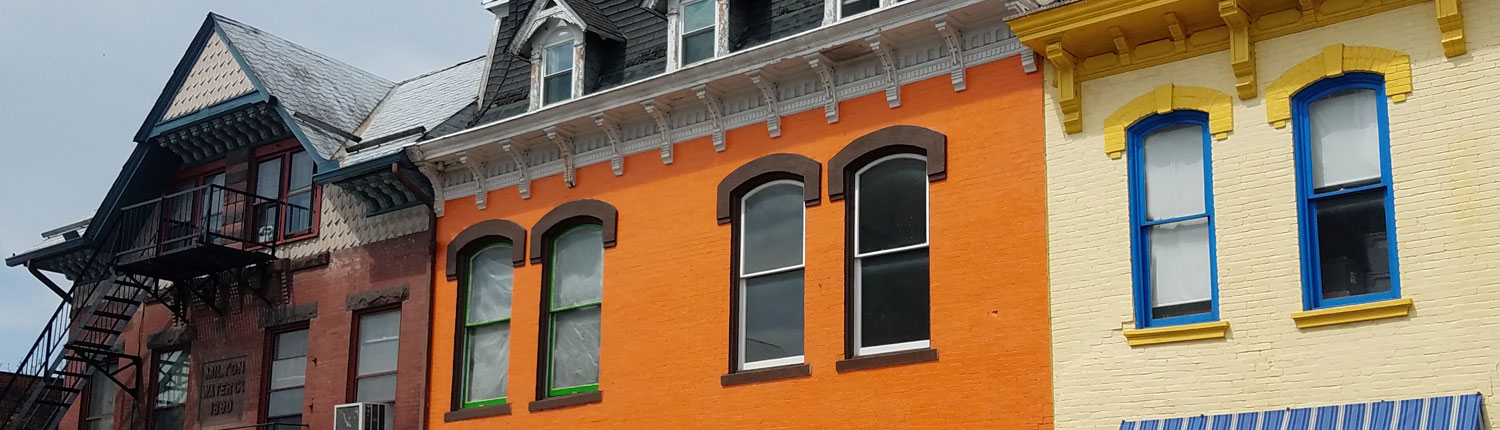 Colorful Buildings in Milton Pa