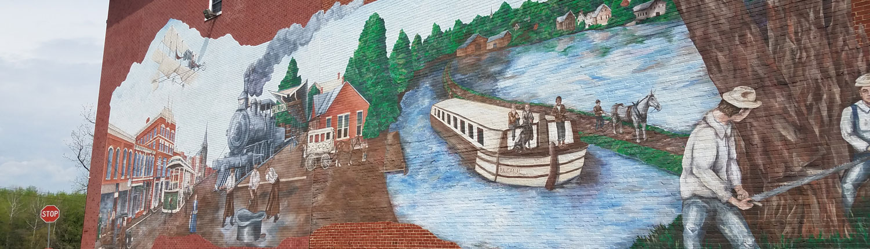 Milton Moose Mural